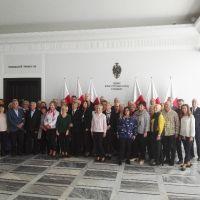 Delegacja z Ostrowa Lubelskiego zwiedziła Sejm i Senat