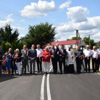 Otwarcie skrzyżowania drogi gminnej z drogą wojewódzką w  Kolechowicach-Folwark