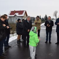 Uroczyste otwarcie drogi gminnej w Kolechowicach