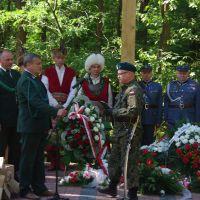 Uroczystości w Lasach Parczewskich