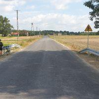 zebudowa dróg gminnych 103626L i 103627L w Rozkopaczewie