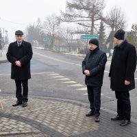 Otwarcie chodnika w Kolechowicach-Folwarku